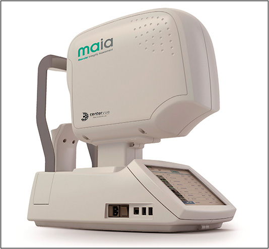 The MAIA microperimetry device.