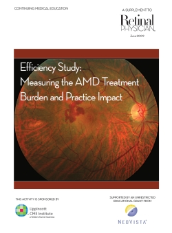 Efficiency Study: Measuring the AMD Treatment Burden and Practice Impact