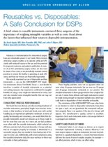Reusables vs. Disposables: A Safe Conclusion for DSPs